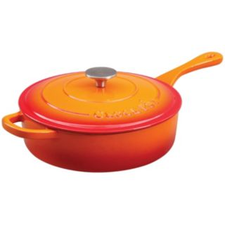 Crock-Pot 3.5-qt. Enamel Cast-Iron Sauté Pan