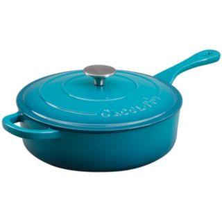 Crock-Pot 3.5-qt. Enamel Cast-Iron Sauté Pan