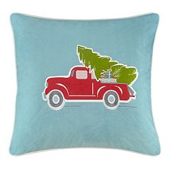 Madison Park Holiday Delivery Throw Pillow