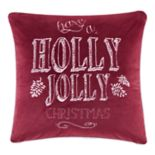 Madison Park ''Holly Jolly Christmas'' Throw Pillow