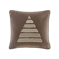 Madison Park Metallic Tree Throw Pillow