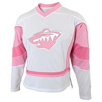 Girls 7-16 Reebok Minnesota Wild Fashion Jersey