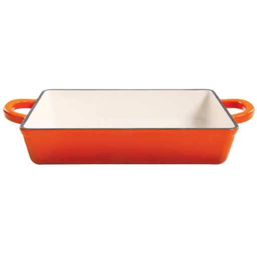 Crock-Pot 13-in. Enamel Cast-Iron Lasagna Pan