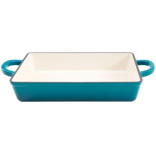 Crock-Pot 13-in. Enamel Cast-Iron Lasagna Pan