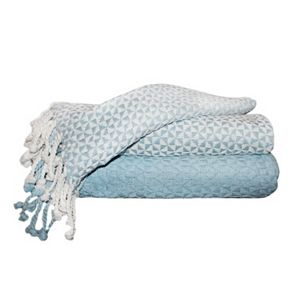 Picasso 2-pack Cotton Throws