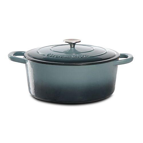 Crock-Pot 7-qt. Enamel Cast-Iron Oval Dutch Oven