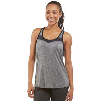 Women's Marika Perforated Aurora Racerback Tank Top
