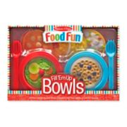 Melissa & Doug Create-A-Meal Fill 'Em Up Bowls
