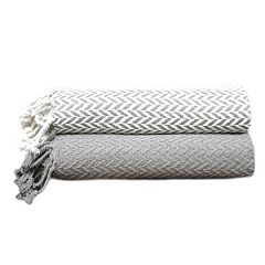 Monaco 2-pack Cotton Throws