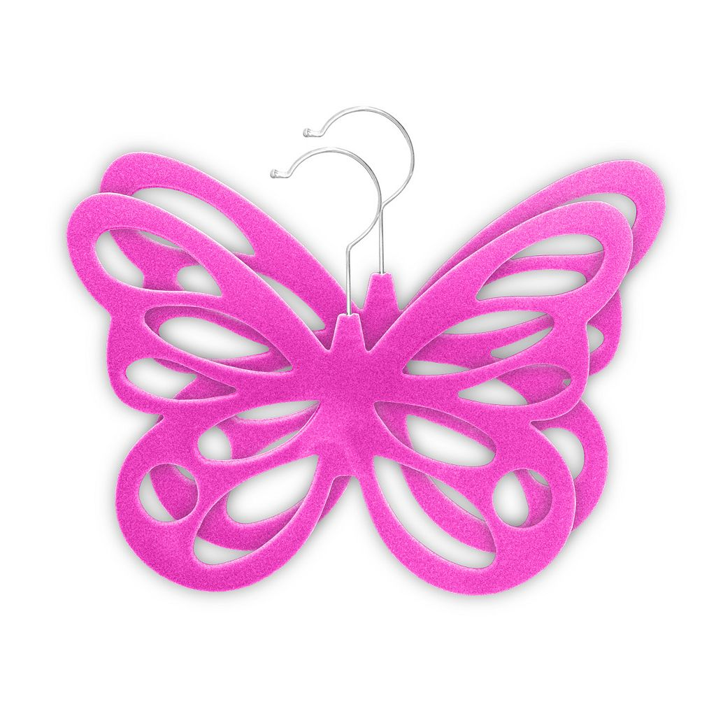Home Basics 2-pack Butterfly Scarf Hanger