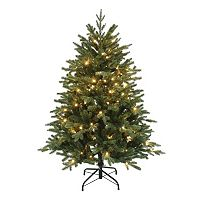 Kurt Adler 4.5-ft. Pre-Lit Pine Christmas Tree