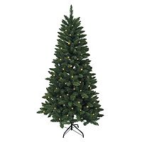 Kurt Adler 6-ft. Pre-Lit Green Pine Christmas Tree