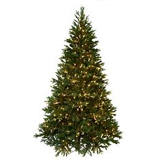 Kurt Adler 7.5-ft. Pre-Lit Angel Pine Christmas Tree