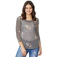 Juniors' Wallflower Pocket Hatchi Tee