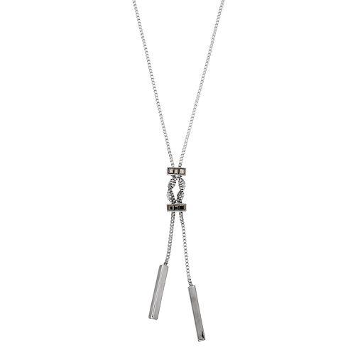 Simply Vera Vera Wang Box Chain Lariat Necklace
