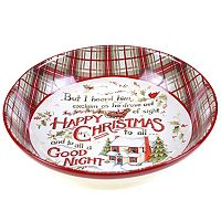 Certified International The Night Before Christmas Pasta Serving Bowl