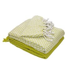 Mosaic 2-pack Cotton Throw Blankets