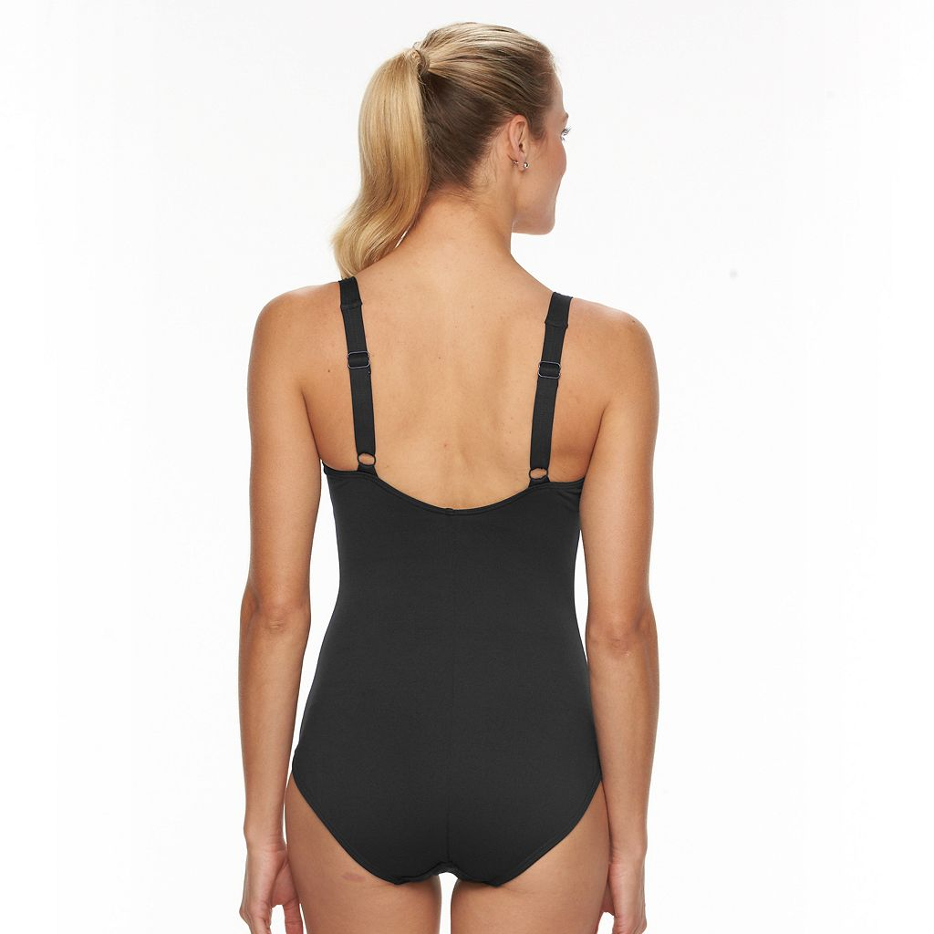 Women's TYR Controlfit Twist-Front One-Piece Swimsuit