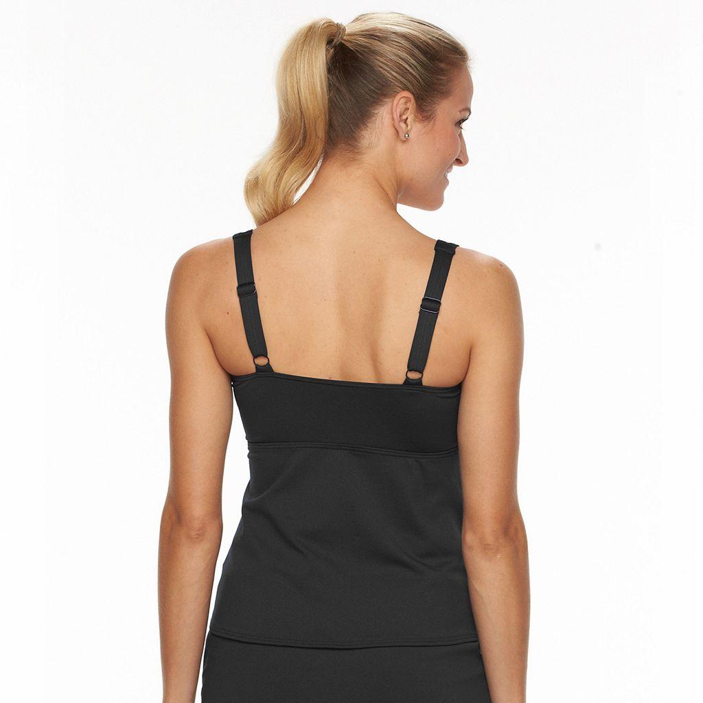 Women's TYR Twist-Front Tankini Top