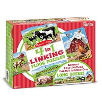 Melissa & Doug 96-pc. Farm Linking Floor Puzzle