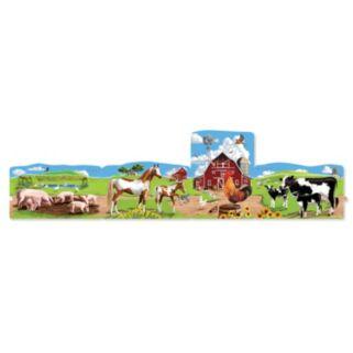 Melissa & Doug 96-pc. Farm Linking Floor Puzzle