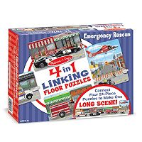 Melissa & Doug 96-pc. Emergency Rescue Linking Floor Puzzle