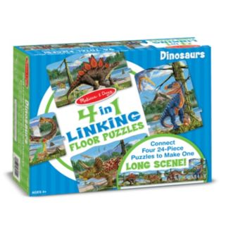 Melissa & Doug 96-pc. Dinosaurs Linking Floor Puzzle