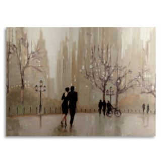 Trademark Fine Art An Evening Out Neutral Metal Wall Art
