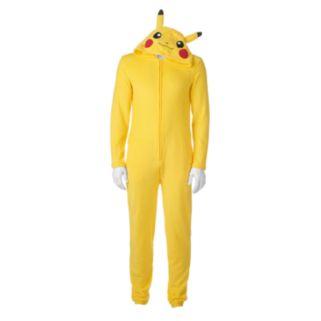 Big & Tall Pokemon Pikachu Union Suit