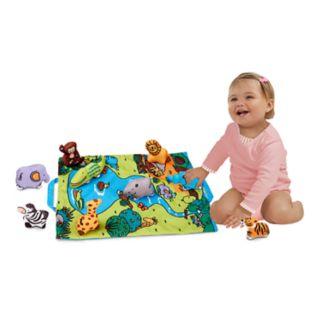 Melissa & Doug Take-Along Wild Safari Play Mat