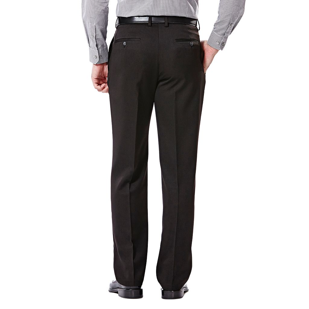 Big & Tall Haggar Travel Classic-Fit Performance Suit Pants