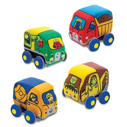 Melissa & Doug Pull-Back Construction Vehicles
