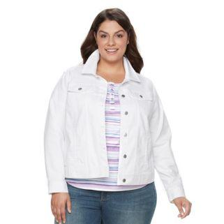 Plus Size Croft & Barrow® Jean Jacket