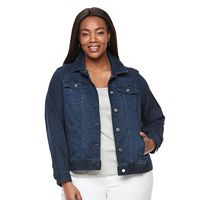 Plus Size Croft & Barrow¨ Jean Jacket