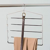 Home Basics Chrome Pant Hanger