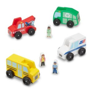 Melissa & Doug Community Vehicle Set