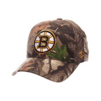 Adult Zephyr Boston Bruins Patent Camo Snapback Cap