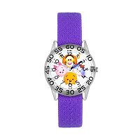 Disney's Tsum Tsum Winnie the Pooh Kids' Reversible Time Teacher Watch