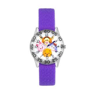 Disney's Tsum Tsum Winnie the Pooh Kids' Reversible Time Teacher Watch