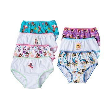 Disney's Elena of Avalor & Skylar Girls 4-8 7-pk. Bikini Panties
