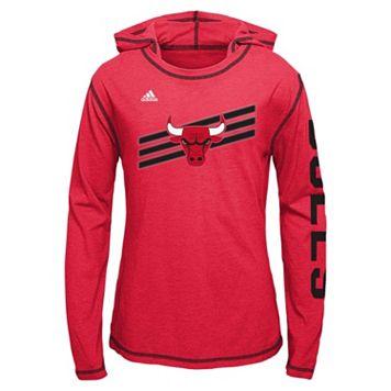 Girls 7-16 adidas Chicago Bulls Super Hoodie