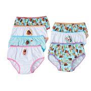 Disney's Moana Pua & Moana Girls 4-8 7 pkBikini Panties