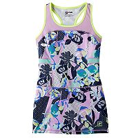 Girls 7-16 FILA SPORT® Mesh Blocked Racerback Tennis Dress
