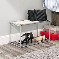 Home Basics 6-pair Non-Woven Shoe Shelf