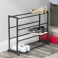 Sunbeam 12-pair Shoe Rack