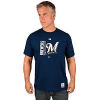 Men's Majestic Milwaukee Brewers AC Team Icon Tee