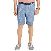 Men's IZOD Classic-Fit Palm Tree Shorts