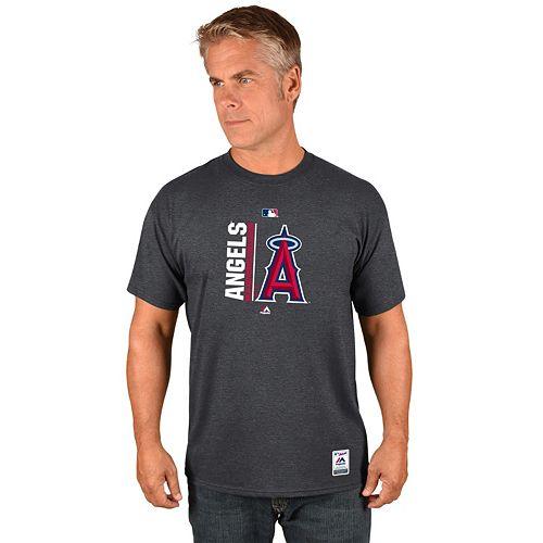 Men's Majestic Los Angeles Angels of Anaheim AC Team Icon Tee