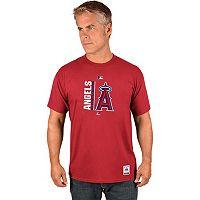 Men's Majestic Los Angeles Angels of Anaheim AC Team Icon Tee
