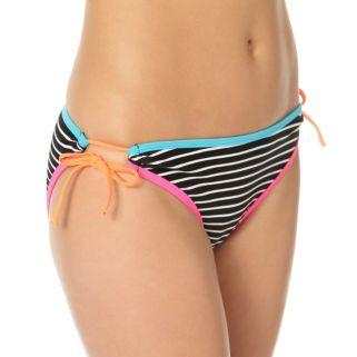 In Mocean Clueless Stripe Bikini Bottoms